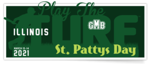 GMB St Patty's Day Bash – Play The Turf – IL